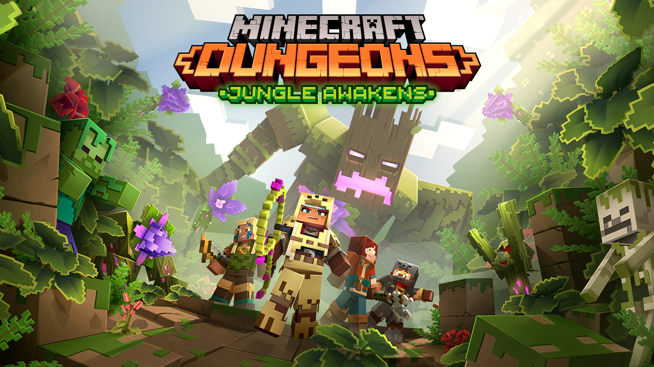 Minecraft Dungeon Jungle Awakens